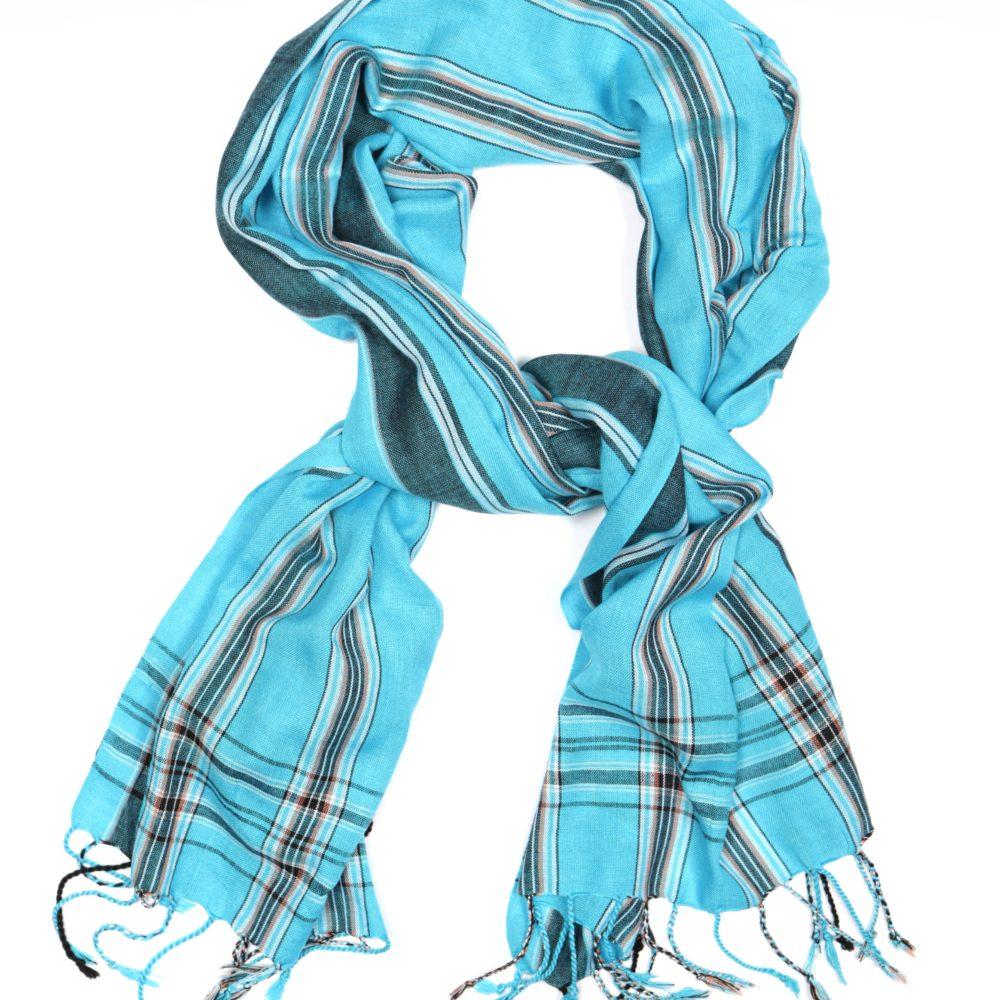African Kenya weave viscose woven oblong scarf